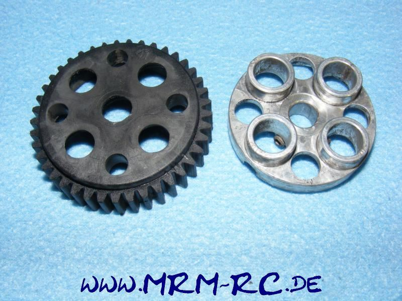 00853 ALU Zahnrad Mitnehmer 52 mm Zahnrad 41 Getriebe Carson FG Sportsline