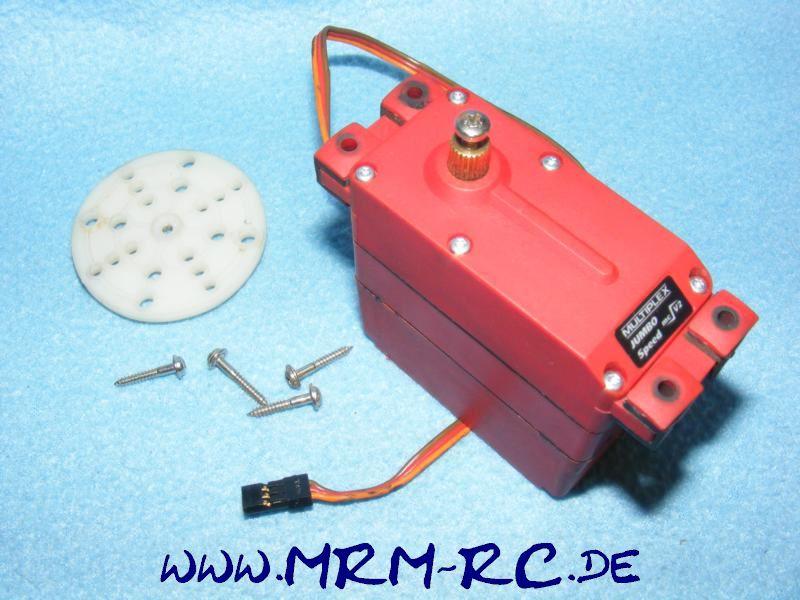 01203 Multiplex Jumbo Speed mcV2 Digitalservo Servo Lenkservo Großservo
