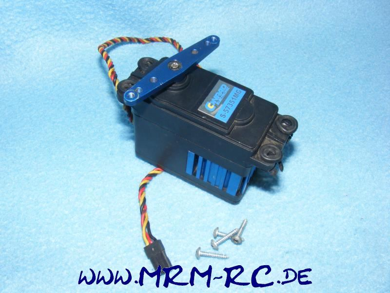 01204 Conrad S-57351MG 180 Ncm Lenkservo digital Servo Quarter Scale Gebraucht