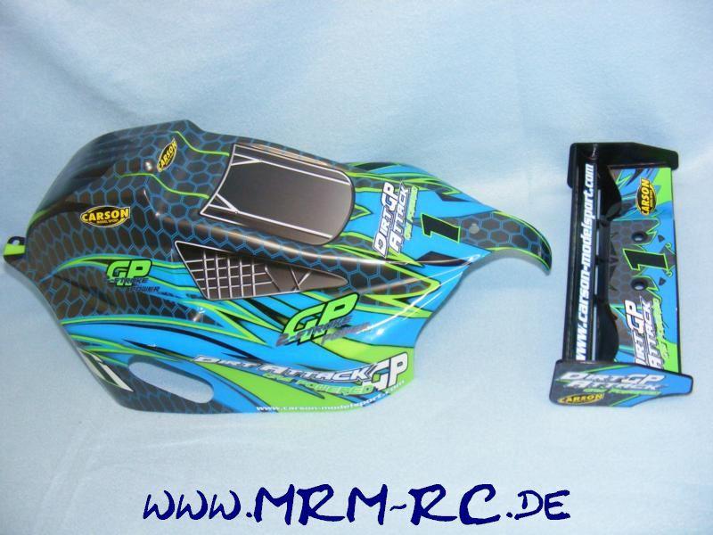 Carson Dirt Attack 500803031 Body Wing Karosserie Karo Spoiler Set