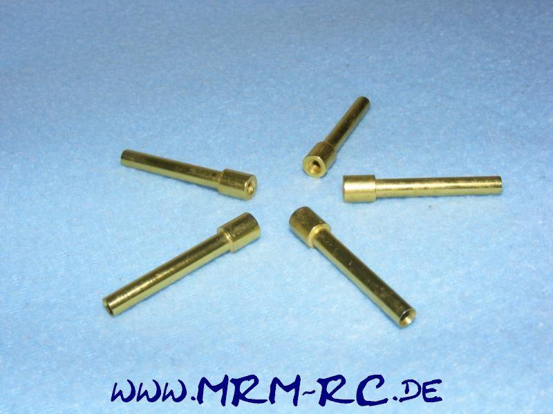 5 ALU Karossenhalter Steher Distanzstück Abstandsbolzen 4/6mm L 35mm M3 Gewinde