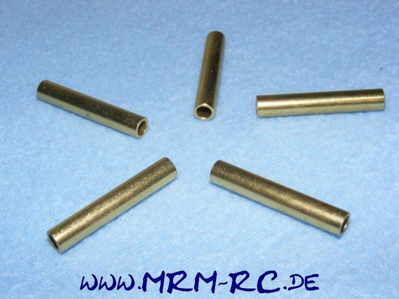 5 ALU Karossenhalter Steher Distanzstück Abstandsbolzen 5,9 mm L 35mm Innen 4 mm