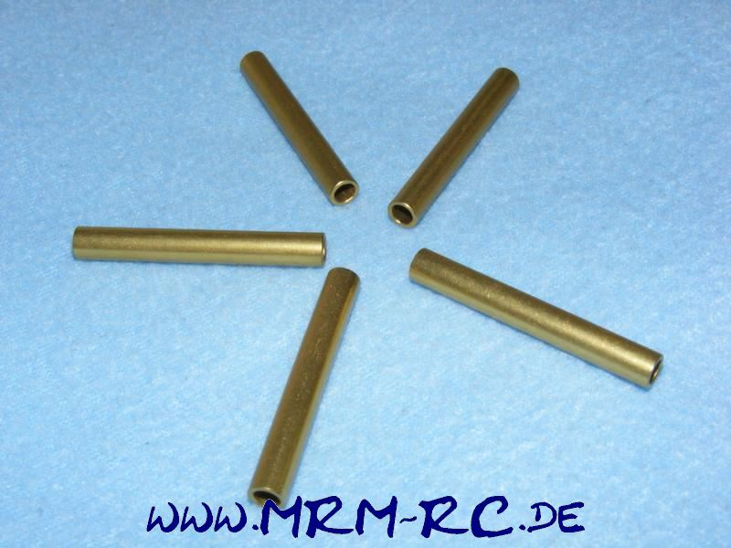5 ALU Karossenhalter Steher Distanzstück Abstandsbolzen 5,9 mm L 45 mm Innen 4mm