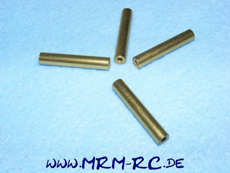 4 ALU Karossenhalter Steher Distanzstück Abstandsbolzen 5,9 mm L 32mm Gewinde M3