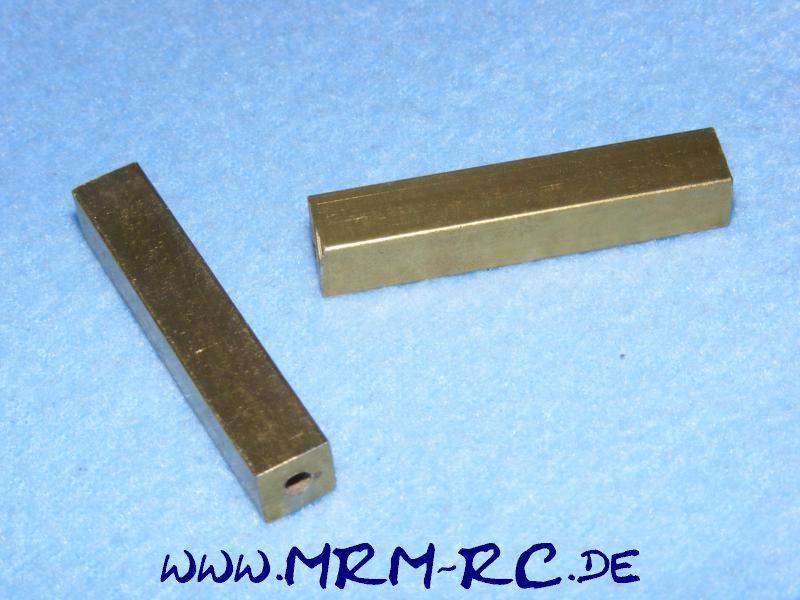 2 ALU Karossenhalter Steher Distanzstück Abstandsbolzen 8 mm L 45 mm Gewinde M3