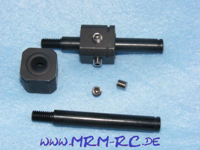 Antrieb Welle VA 65 mm VK 18x18 Carson 32776 NEU
