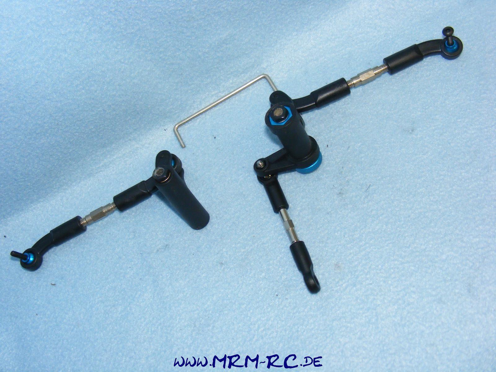 Carson Dirt Attack 500405239 Lenkung Steering mount/servosaver Lenkmechanik