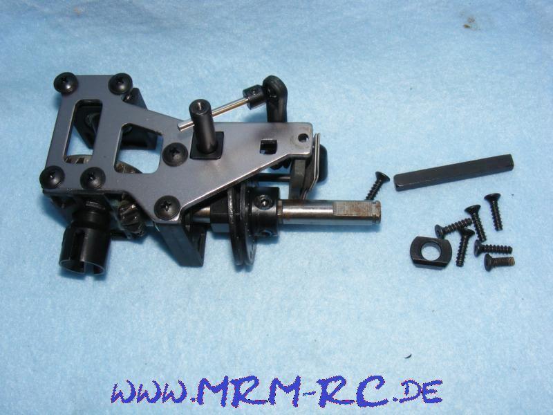 Mittelgetriebe Bremse Getriebe komplett Zahnrad Reely Carbon Fighter Graupner MT