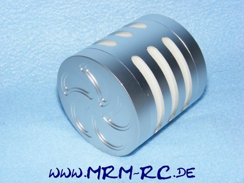 Alu Tuning Luftfilter Filter Sportluftfilter silber FG Carson Reely Zenoah