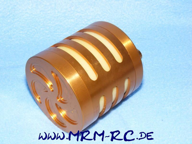 Alu Tuning Luftfilter Filter Sportluftfilter orange FG Carson Reely Zenoah