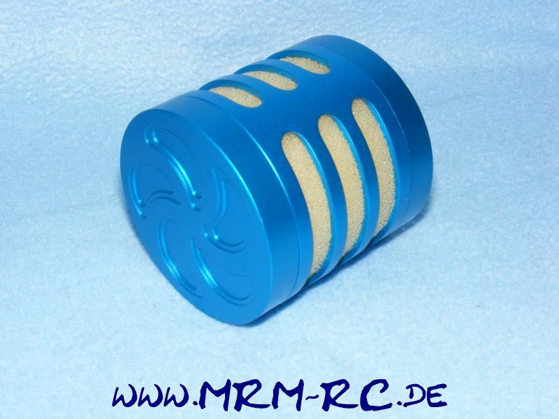 Alu Tuning Luftfilter Filter Sportluftfilter blau FG Carson Reely Zenoah