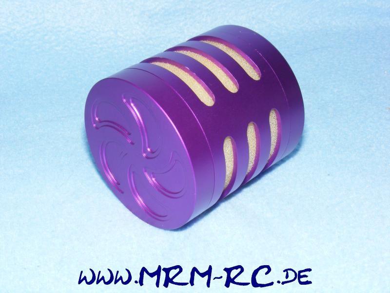 Alu Tuning Luftfilter Filter Sportluftfilter lila FG Carson Reely Zenoah