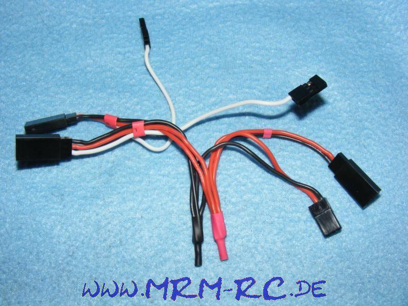 Servo Empfänger Kabel Direktstromversorgung Direkt Strom NEU