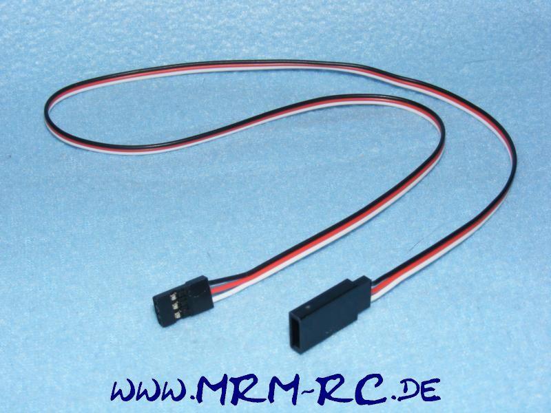 Servo Empfänger Verlängerungskabel Graupner JR Reely FG Carson 500 mm NEU Kabel