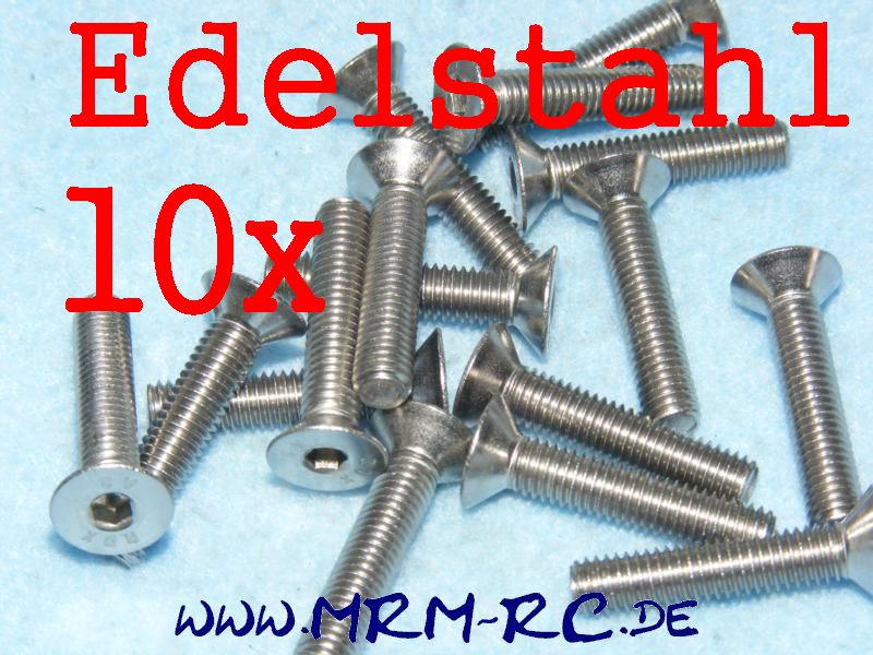 DIN 7991 M5 x 25 Edelstahl Innensechskant Schraube 6722/25 32434 10er Pack 52021